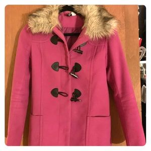 Pink H&M Peacoat Jacket
